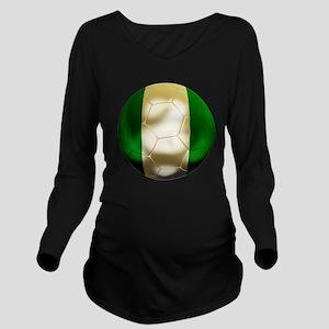 Nigeria World Cup Long Sleeve Maternity T-Shirt