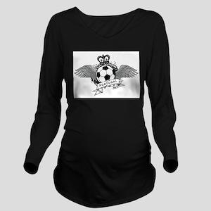 Portugal Football Long Sleeve Maternity T-Shirt