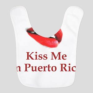 Kiss Puerto Rican Bib