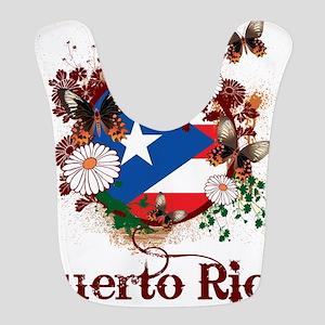 Butterfly Puerto Rico Bib