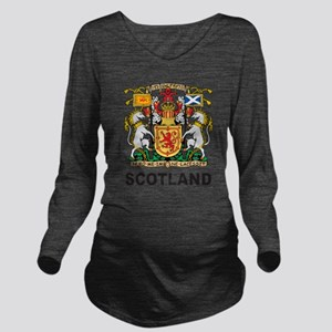 Scotland Long Sleeve Maternity T-Shirt