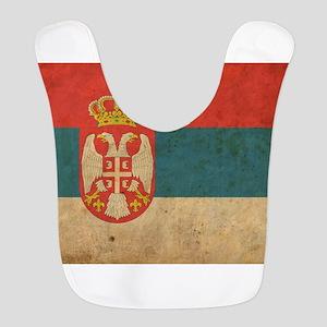 Vintage Serbia Flag Bib