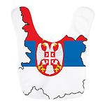 Map Of Serbia Bib