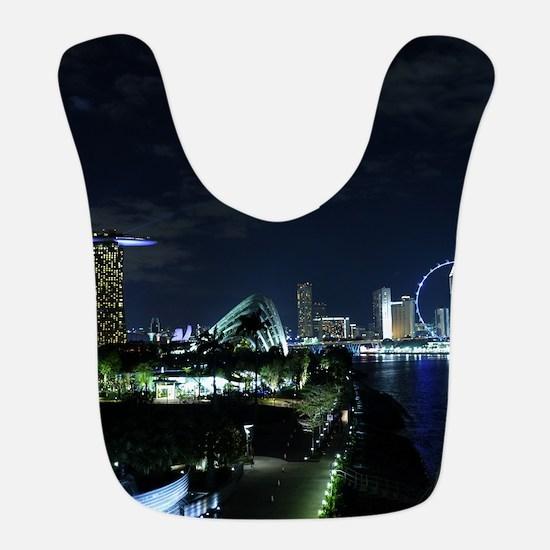 Singapore Skyline Bib