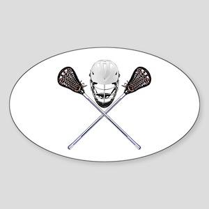 Lacrosse Pirate Sticker