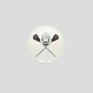 Lacrosse Pirate Mini Button