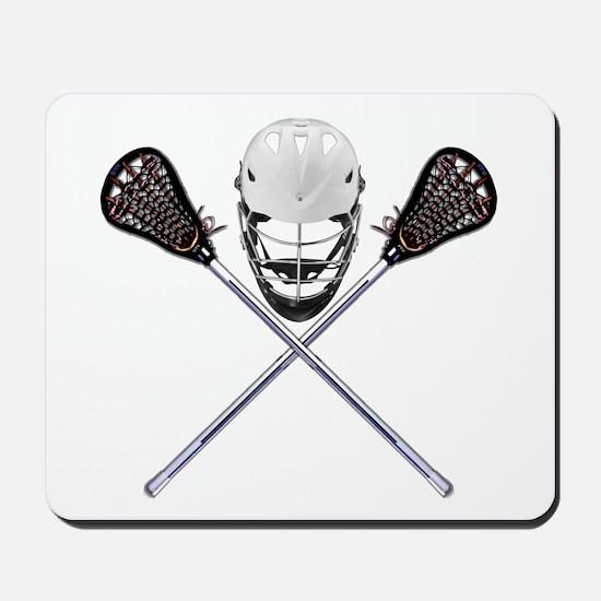 Lacrosse Pirate Mousepad