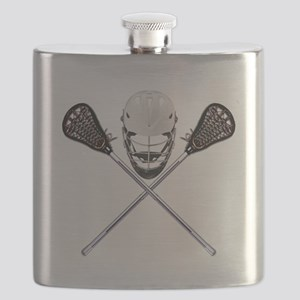 Lacrosse Pirate Flask