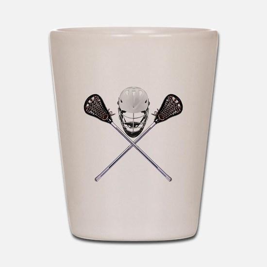 Lacrosse Pirate Shot Glass