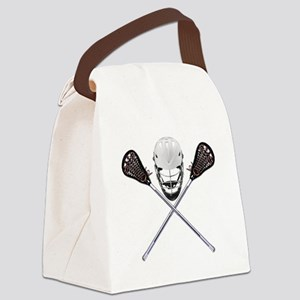 Lacrosse Pirate Canvas Lunch Bag