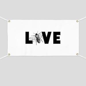 Honeybee Love Banner