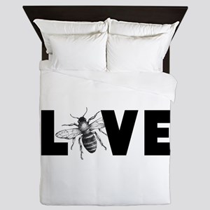 Honeybee Love Queen Duvet