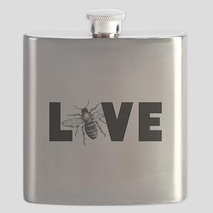 Honeybee Love Flask