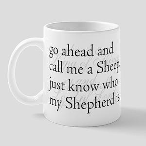 Sheep Shepherd King of Kings Mug