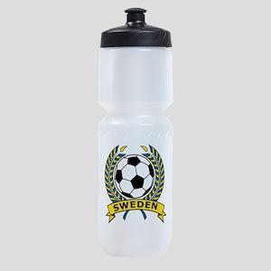 Soccer Sweden Sports Bottle