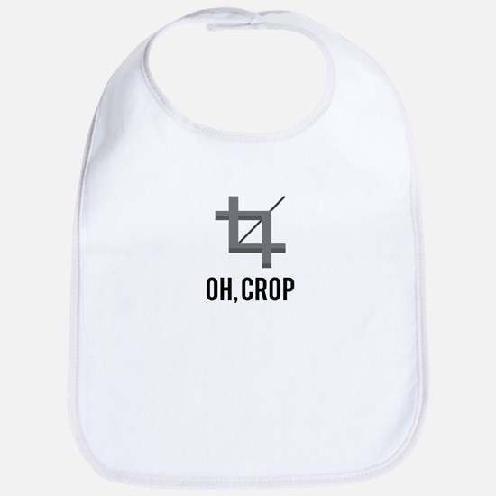 Oh, Crop Bib