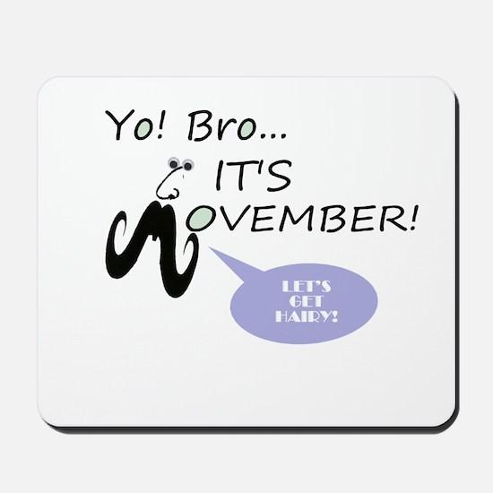 Movember Mousepad
