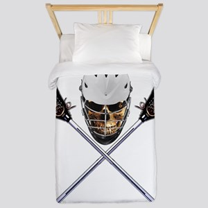 Lacrosse Pirate Skull Twin Duvet