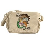 Vet Techs Are The Perfect Fit Messenger Bag