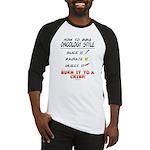 Oncology Style BBQ Baseball Jersey