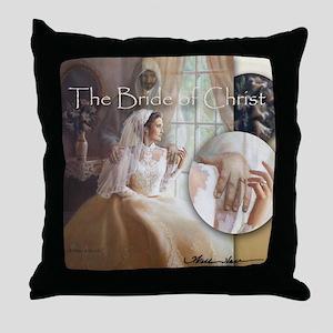 """Bride of Christ"" Fine Art Christian Pillow"
