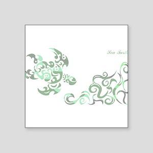 SEA TURTLE-WIDE(Camouflage) Rectangle Sticker