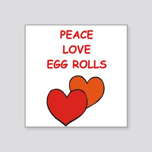 egg rolls Sticker