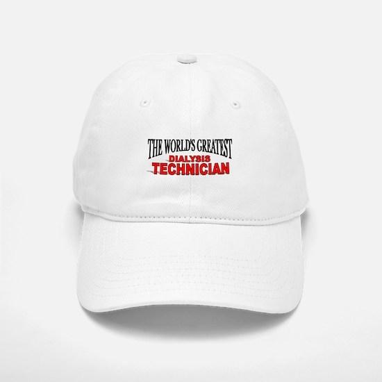 """The World's Greatest Dialysis Technician"" Baseball Baseball Cap"