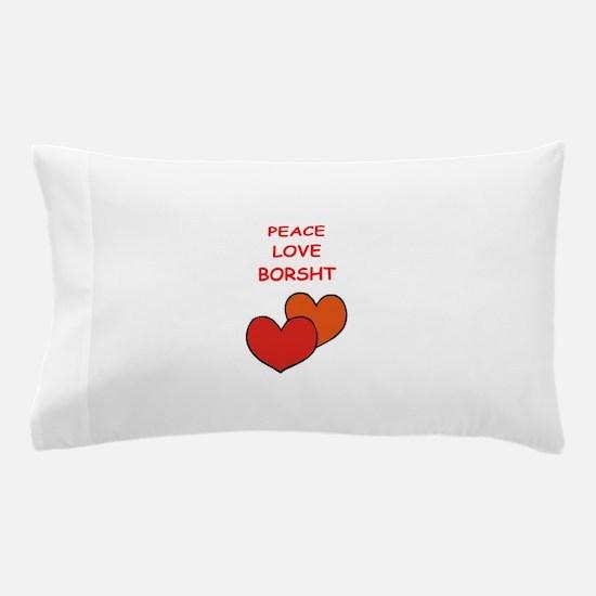 borsht Pillow Case
