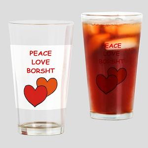 borsht Drinking Glass