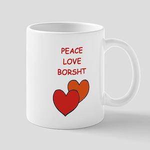 borsht Mugs