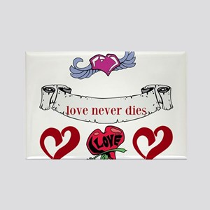 Love Never Dies Magnets