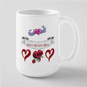 Love Never Dies Mugs