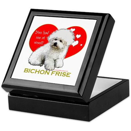 Afghan Hound Valentine Heart Keepsake Box