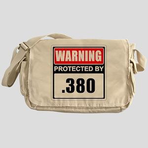 Warning .380 Messenger Bag