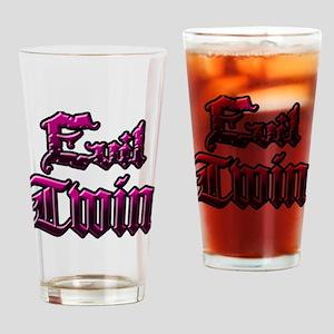 Evil Twin Drinking Glass