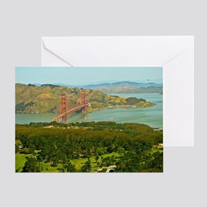 Urban Dimensions SF  Greeting Card