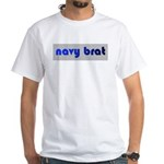 navy brat White T-Shirt