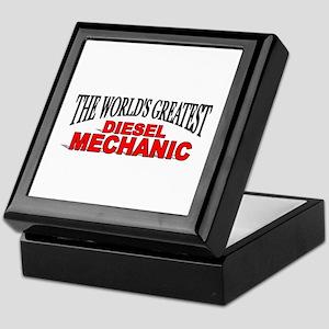 """""""The World's Greatest Diesel Mechanic"""" Tile Box"""