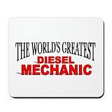 Diesel mechanic Classic Mousepad