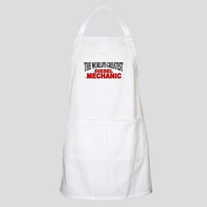 """The World's Greatest Diesel Mechanic"" BBQ Apron"