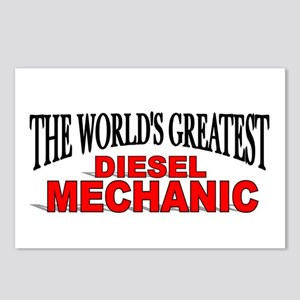 """The World's Greatest Diesel Mechanic"" Postcards ("