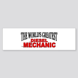 """The World's Greatest Diesel Mechanic"" Sticker (Bu"