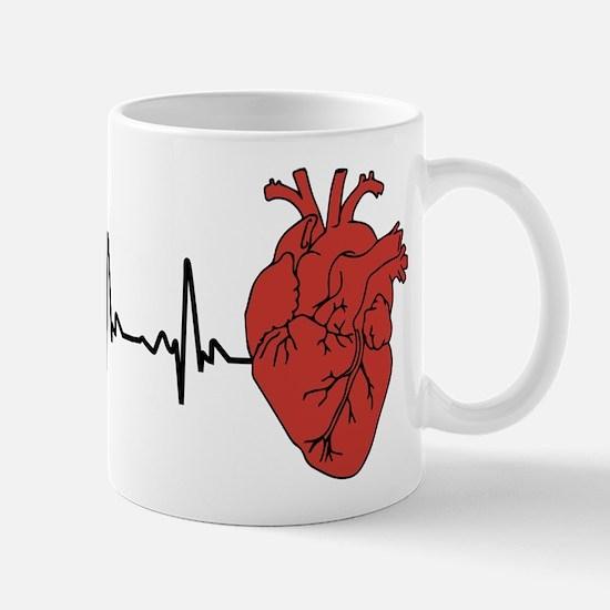 Heart Cardiograph Mug