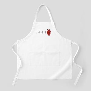 Heart Cardiograph Light Apron