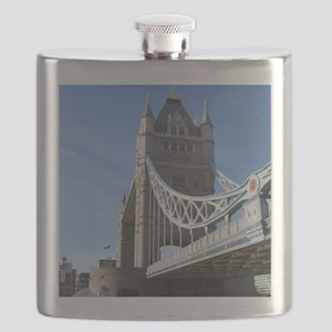 Tower Bridge London England UK Flask