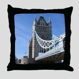 Tower Bridge London England UK Throw Pillow