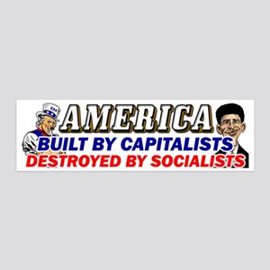 Destroyed By Socialsts 20X6 Wall Decal