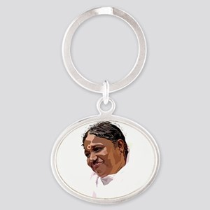Poster Oval Keychain