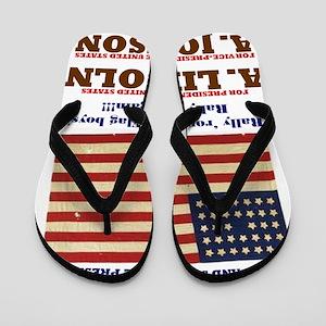 ART Lincoln 1864 Flip Flops